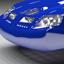 Blue Concept Car